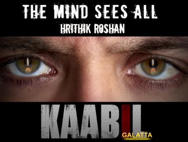 Kabil - a beautiful journey : Hrithik Roshan