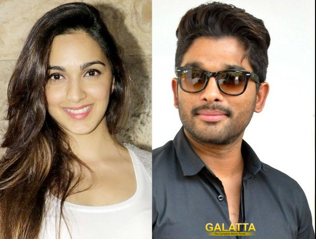 kiara advani to pair with allu arjun - Telugu Movie Cinema News
