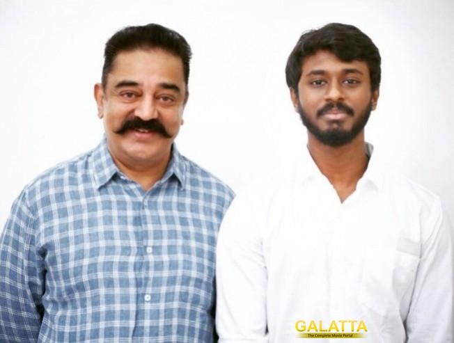 K.Ramachandran Meets Kamal Haasan!