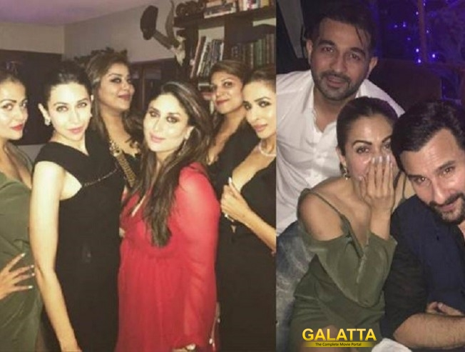 Bebo's Christmas celebrations with girlfriends
