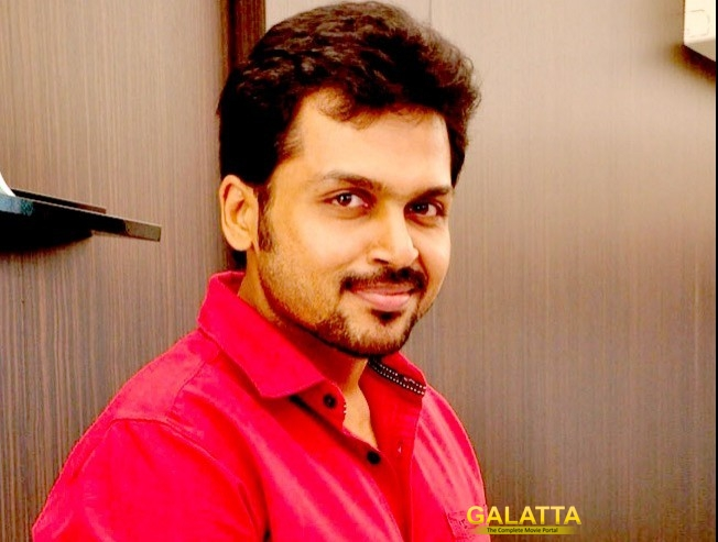 Karthi-Vinoth project gets a title