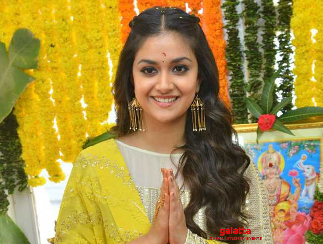 Keerthy 20 next schedule update directed by Narendra Nath  - Tamil Movie Cinema News