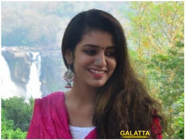 Nalan Kumarasamy Denies Approaching Priya Prakash Varrier For His Next Film