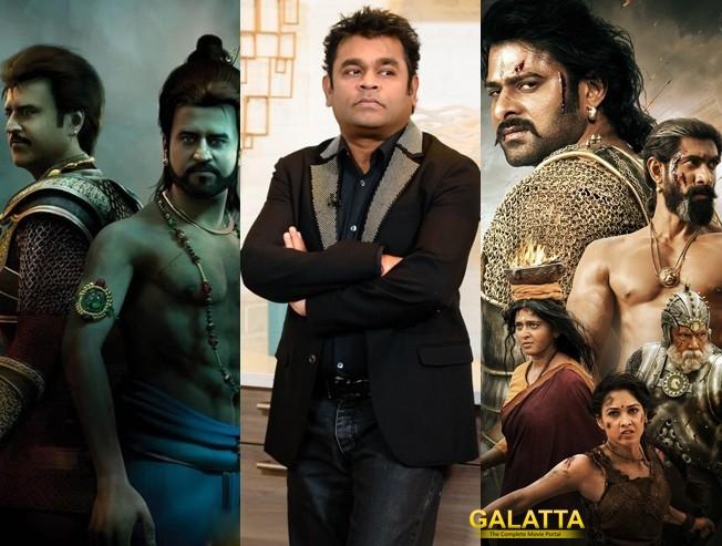 AR Rahman Says Kochadaiyyan Could've been Kollywood's Baahubali