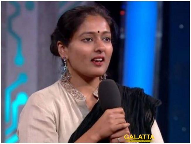 Gayathri Raghuram On Riythvika Bigg Boss 2 Aishwarya Dutta Vijayalakshmi Kamal Haasan
