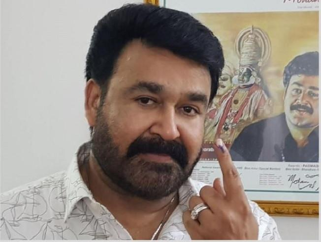 Here's why Mohanlal was made to wait for one hour to cast his vote