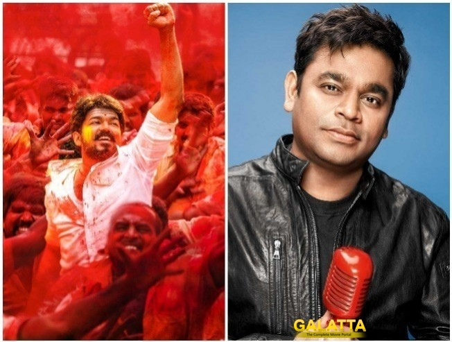 A Thank You From A. R. Rahman To Vijay