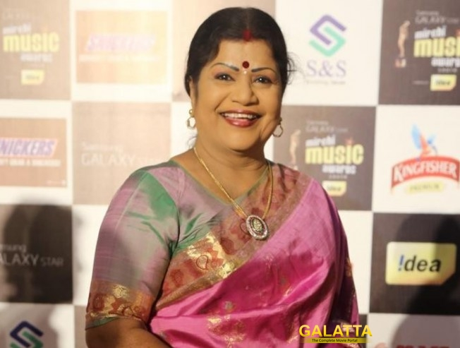 A Kuthu number for LR Eswari again
