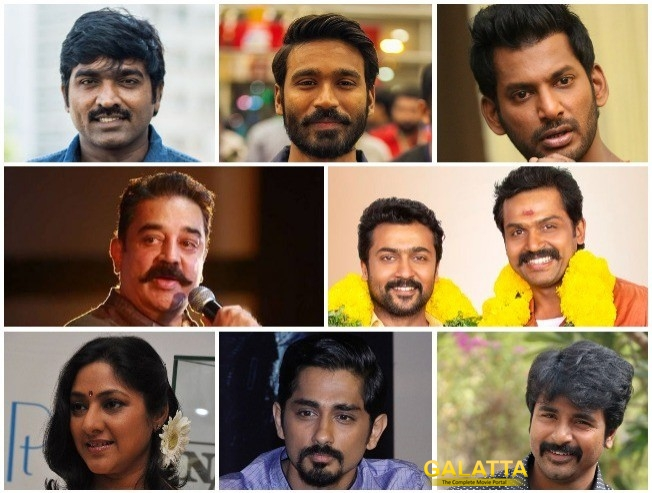 Kerala Flood Relief: Tamil Film Stars And Their Massive Contributions