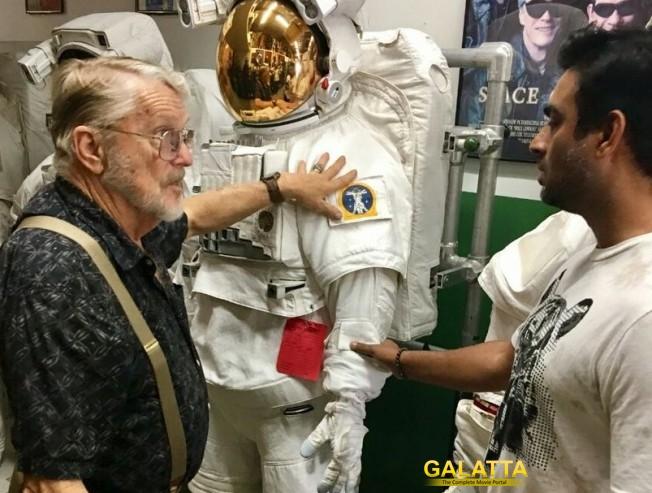 Maddy in NASA