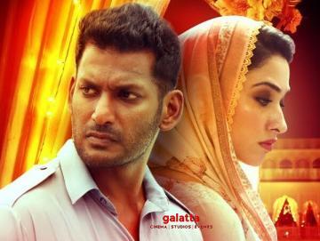 Action Maula Maula Telugu Vishal Tamannaah Hiphop Tamizha - Tamil Movie Cinema News