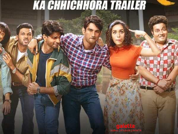 Check Out The Nostalgic Trailer Of Chhichhore!
