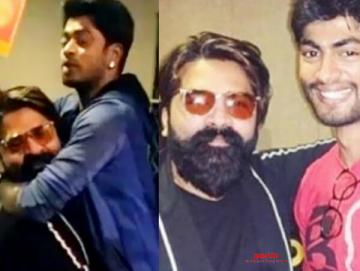 STR Meets Sandy And Tharshan Bigg Boss 3 - Movie Cinema News