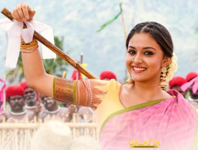 Sandakozhi 2 Keerthy Suresh Folk Dance Vishal Varalaxmi Lingusamy Yuvan