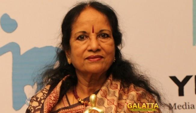 Happy Birthday Vani Jairam