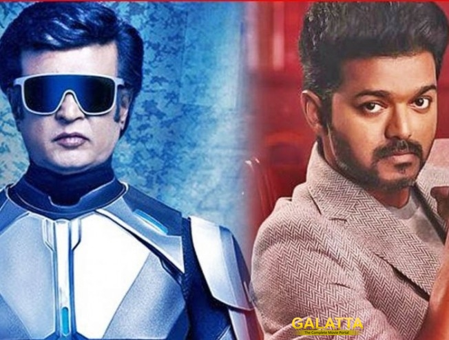 Rajinikanth 2Point0 Shankar Collection Record Beats Vijay Sarkar