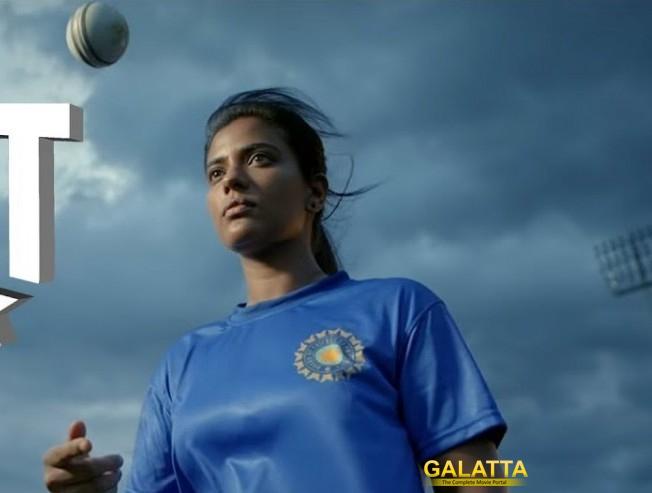 Kanaa Movie Making Video Released Aishwarya Rajesh As Cricket Player