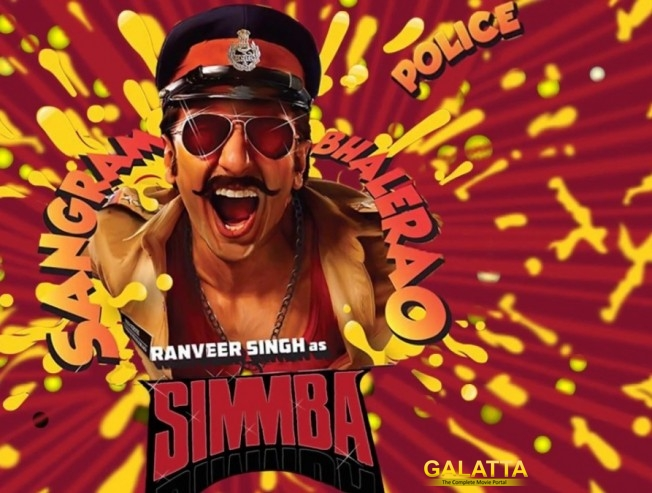 Simbaa, Ranveer Singh, Sara Ali Khan, Rohit Shetty , Action packed