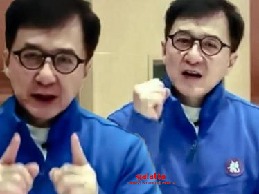 Jackie Chan's special video exclusively for his Indian fans!