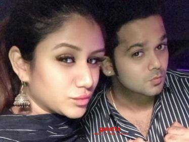 Alya Manasa and Sanjeev share the first picture of their baby girl - Tamil Cinema News