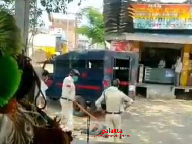 Police brutally assault man in Madhya Pradesh!