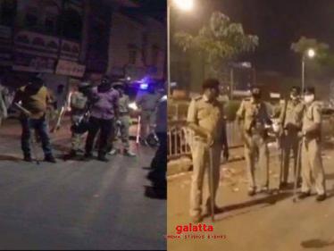 Coronavirus lockdown: Stones thrown at police at containment zone in Gujarat's Godhra - Tamil Cinema News