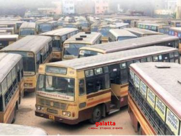 Coronavirus crisis | MTC employees asked to ready 1,700 buses in Chennai for fitness test - Tamil Cinema News