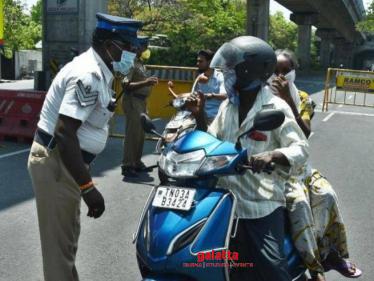Coronavirus lockdown - Chennai Police use Eye Tracker app for tracking violators - Tamil Cinema News