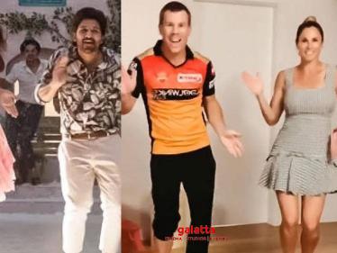 WOW: Butta Bomma Song - Dance Cover By David Warner & His Wife | Ala Vaikunthapurramloo - Tamil Cinema News
