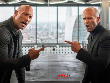 Dwayne Johnson confirms Hobbs and Shaw 2 is in active development - Tamil Cinema News