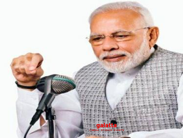 PM Narendra Modi's Mann Ki Baat speech's highlights! - Tamil Cinema News