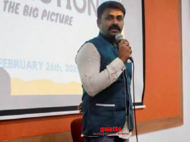 Gaurav Narayanan gives special director's cut for son Sanjit! - Tamil Cinema News