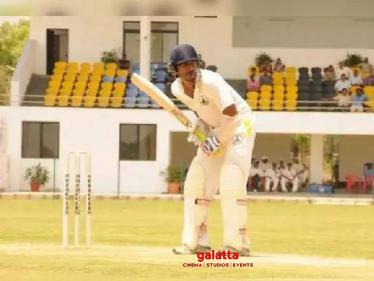 Vishnu Vishal gives batting tips to Allu Sirish! - Tamil Cinema News