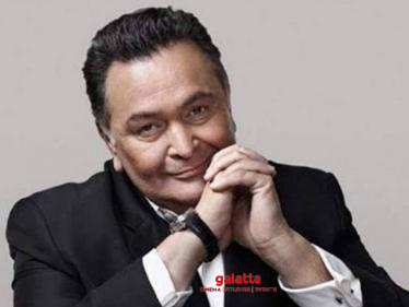 Rishi Kapoor passes away at 67 | Nation grieves as another acting legend gone  - Tamil Cinema News