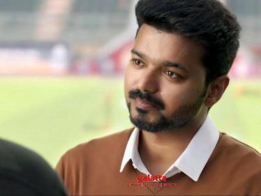 Singer Krish shares Vijay's inspirational Bigil dialogue - Tamil Cinema News