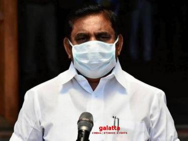 """Tamil Nadu is number one in coronavirus relief efforts"": CM Edappadi Palaniswami"