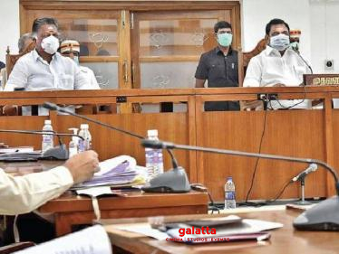 TN CM meets with special committee! Decision on lifting lockdown soon... - Tamil Movies News