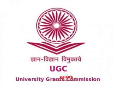 UGC gives out update on 2020-21 college session reopening! - Tamil Movies News