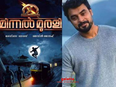 Tovino's Minnal Murali movie sets destroyed by a group of racialists - shocking incident!-