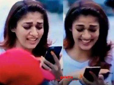 Popular actor releases Nayanthara's unseen cute funny video! Check Out!