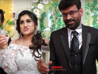 BREAKING: Vanitha Vijayakumar releases unseen footage from her wedding! -