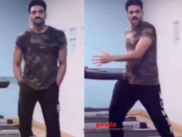 Ashwin Kkumar's latest trending treadmill dance video - tribute to this leading star!