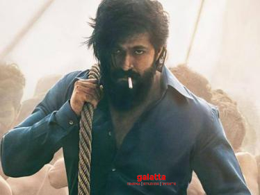 Yash's KGF 2 latest update - editing and BGM works happening simultaneously!-