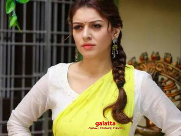 Latest: Hansika's official word on her wedding rumours! Check Out!