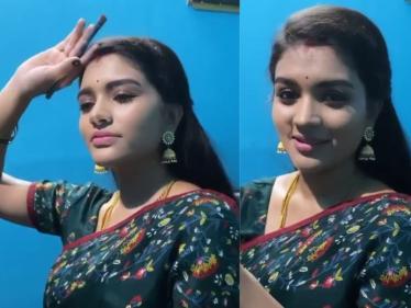 செம்பருத்தி ஷூட்டிங் ஸ்பாட் வீடீயோவை வெளியிட்ட நடிகை !