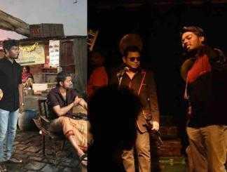 பிகில் ஷூட்டிங் புகைப்படத்தை பகிர்ந்த அட்லீ !