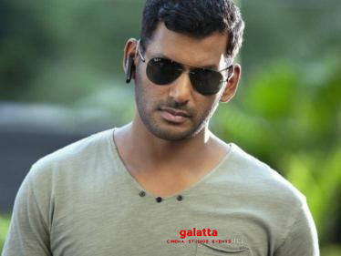 Exciting new announcement on Vishal's next biggie! Check out! -
