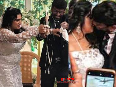 Vanitha Vijayakumar gets hitched to Peter Paul - viral wedding pictures here!-