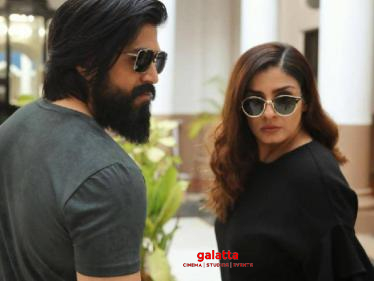 Popular actress reveals breaking details about her role in KGF 2 - check out!-