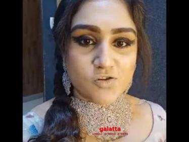Vanitha Vijayakumar's new video goes viral - joins shooting for this TV program!-